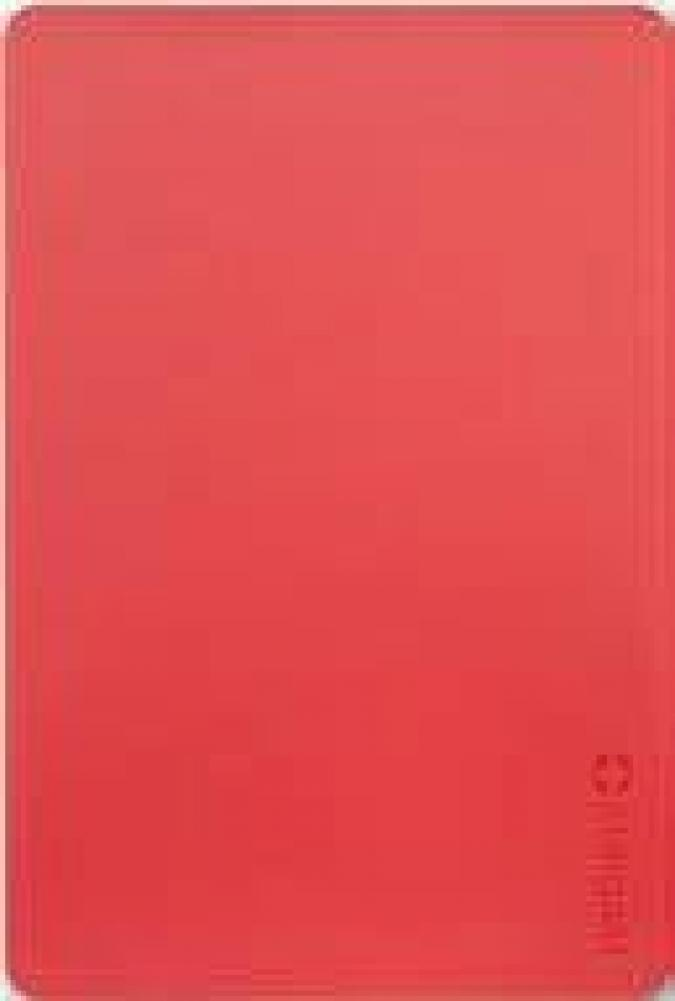 Lõikelaud 45x30cm PP punane,toores liha, Stalgast