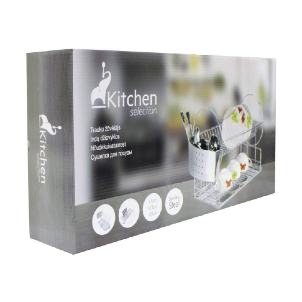 Nõudekuivatusrest 45x23x36cm, Kitchen Selection